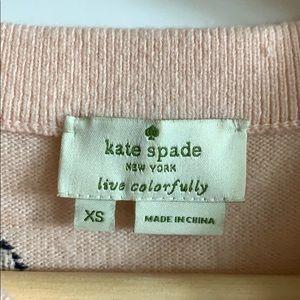 kate spade Sweaters - Kate space polka dot sweater